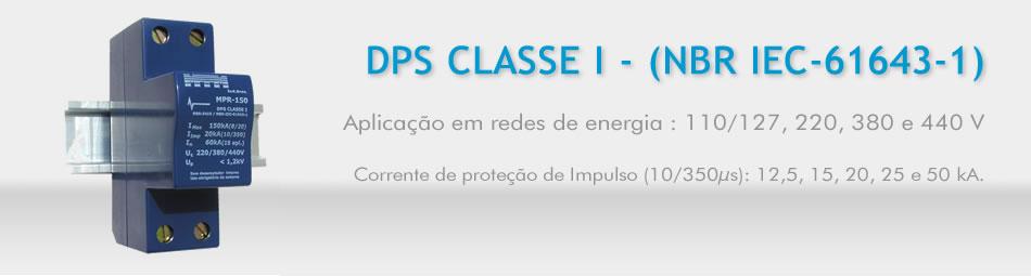 DPS CLASSE I - (NBR IEC-61643-1)